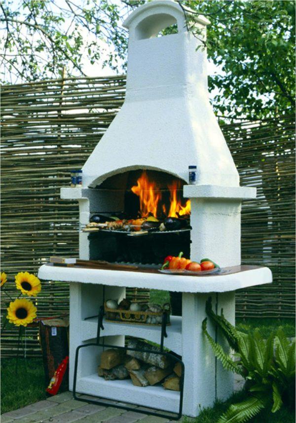 Уличная печь — барбекю