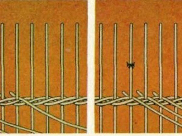 Плетение из ротанга своими руками видео