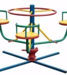 «Вращающиеся кресла», или лучевая карусель