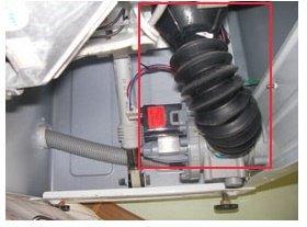 Проверка патрубка стиральной машины