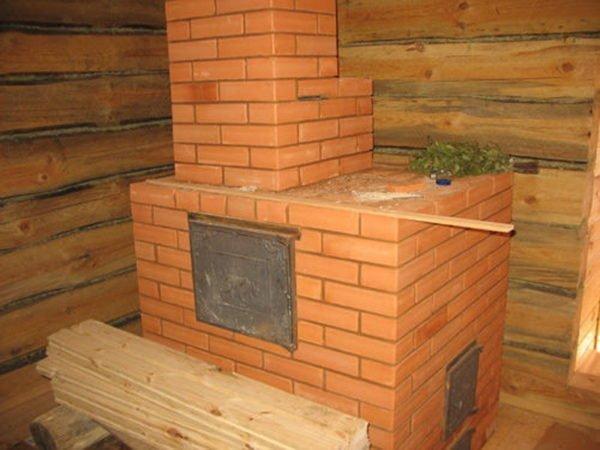 Кирпичная дровяная печь