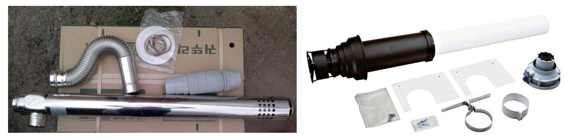 Коаксиальный или классический дымоход коаксиальный дымоход для котла бакси