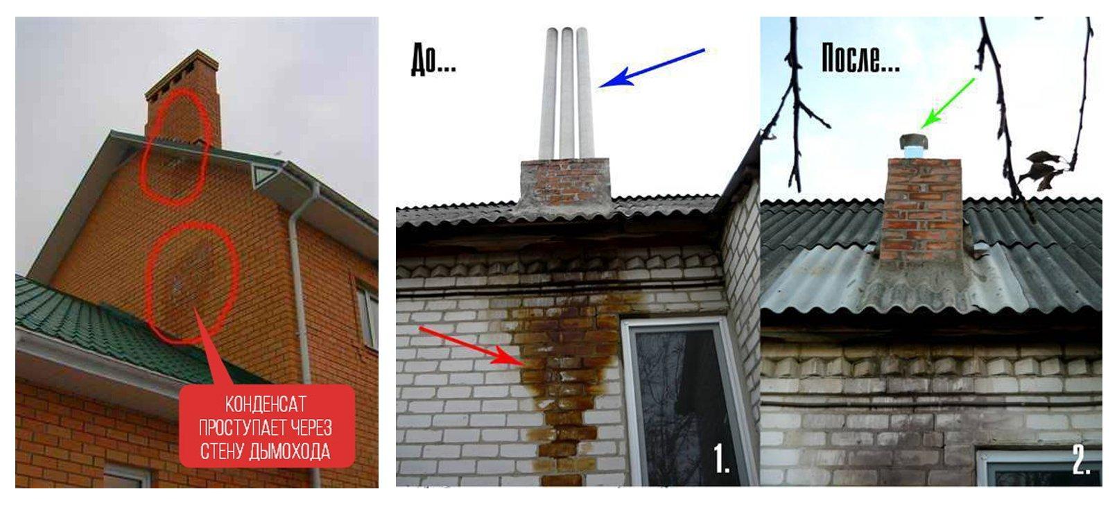 Как утеплить газовый дымоход своими руками