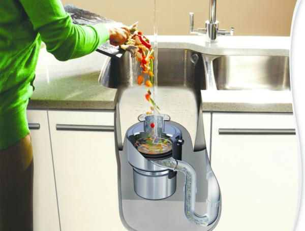 Принцип действия измельчителя отходов для раковины