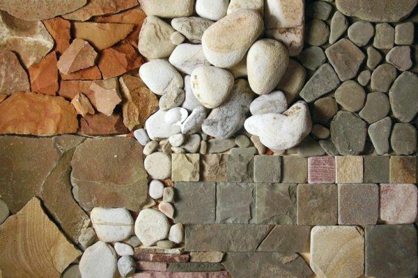 Разные виды природного камня