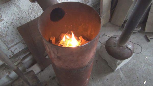 Изготовление крышки печи