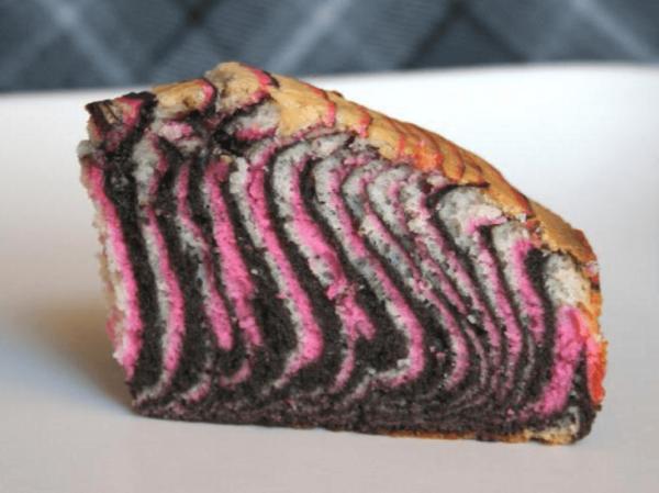 Разноцветный пирог Зебра
