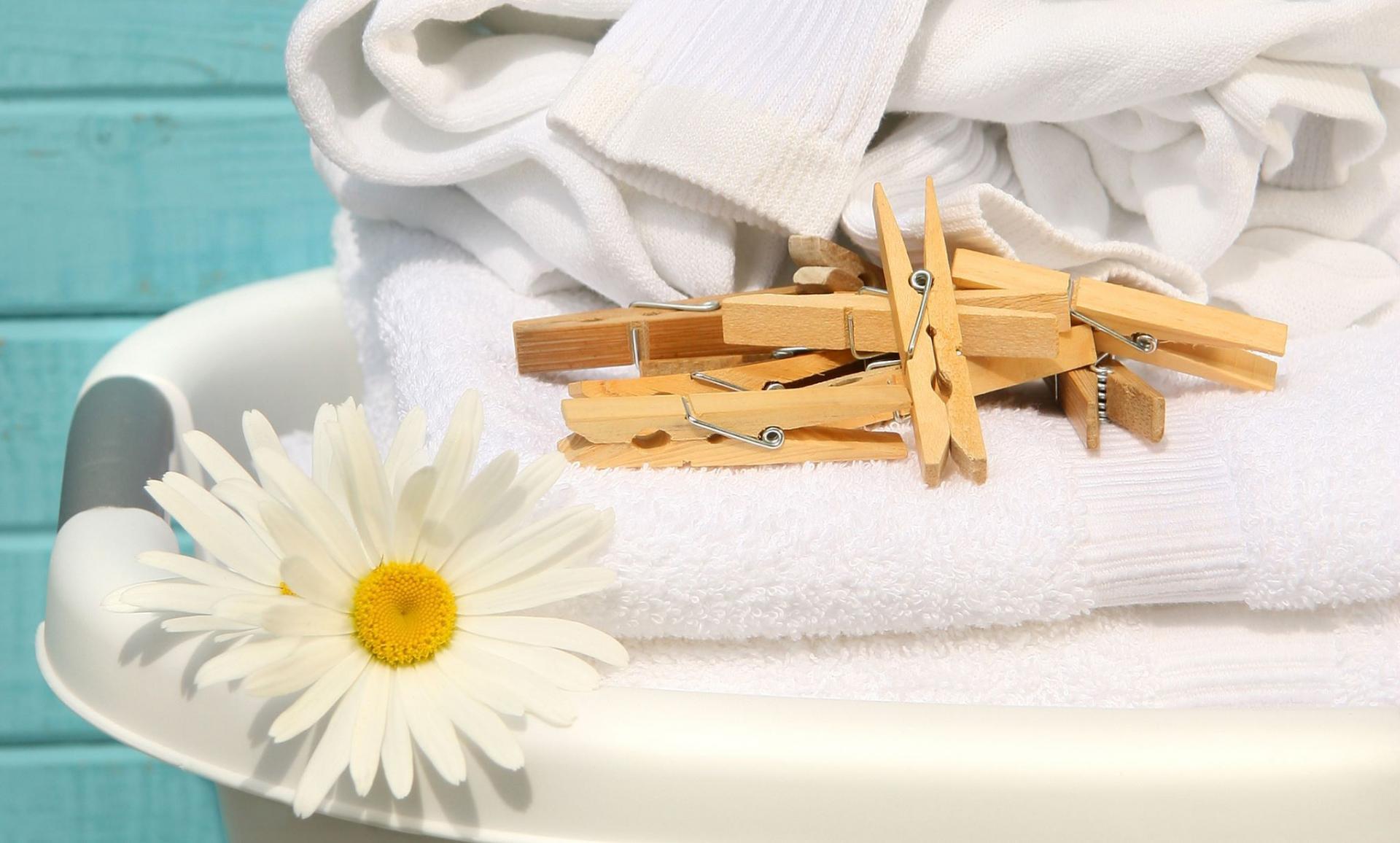 С чем постирать белые вещи в домашних условиях