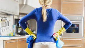Генеральная уборка на кухне