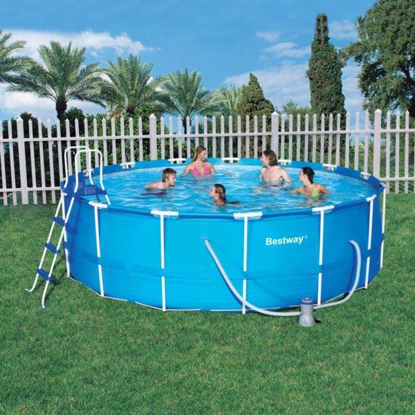 Каркасный бассейн из ПВХ-плёнки