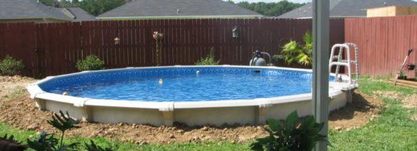 Каркасный заглубленный бассейн