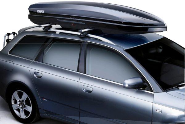 Автомобиль с верхним багажником