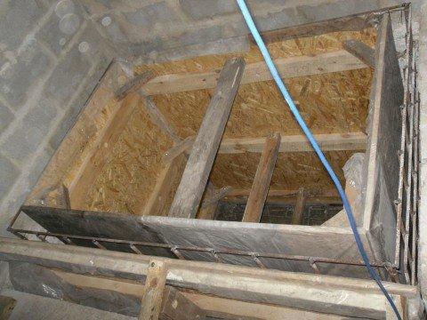 Бани из бетона своими руками 220