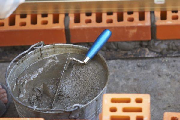Ёмкость для замеса цементного раствора