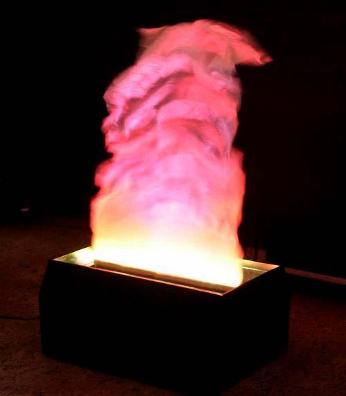 Имитация живого огня