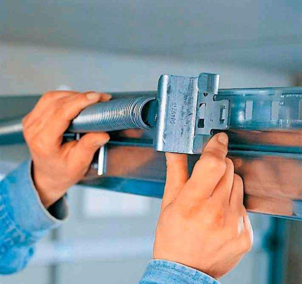 Изготовление подъёмного механизма подъёмно-поворотных ворот