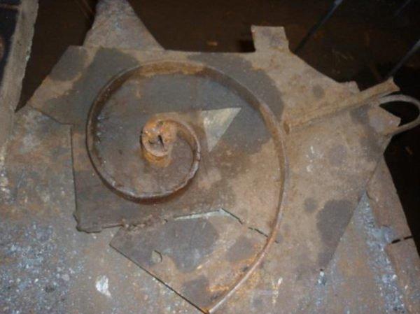 Изготовление элемента с радиусом