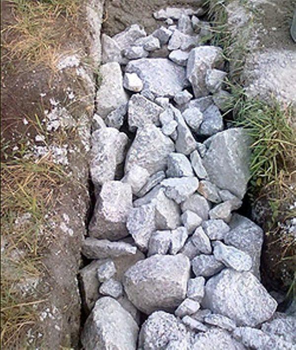 Камень для бутобетонного фундамента
