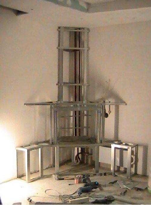 Каркас электрокамина с дымоходом