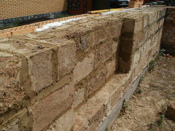 Кладка стен