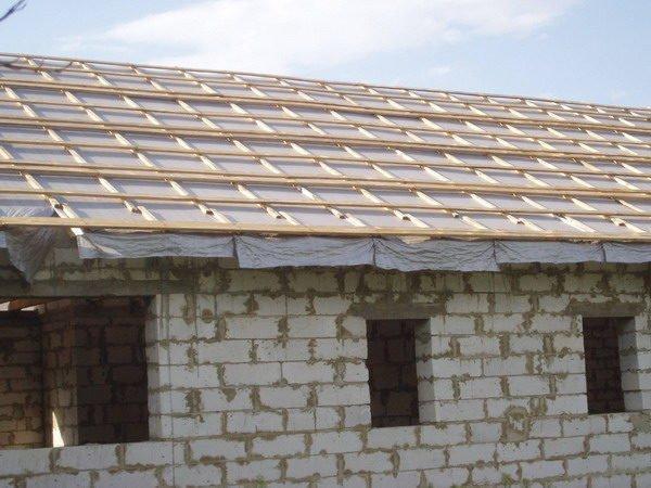 Крыша коровника