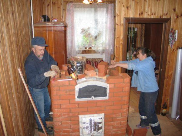 Строительство печи Кузнецова