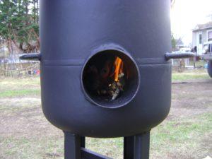печь буржуйка