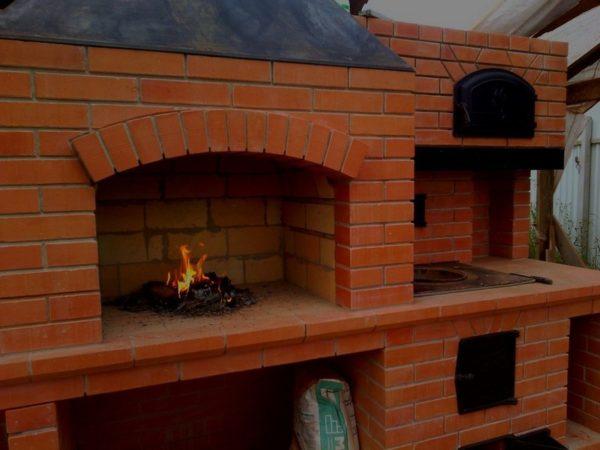Печь для сада или теплицы