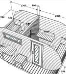 Проект овальной бани-бочки