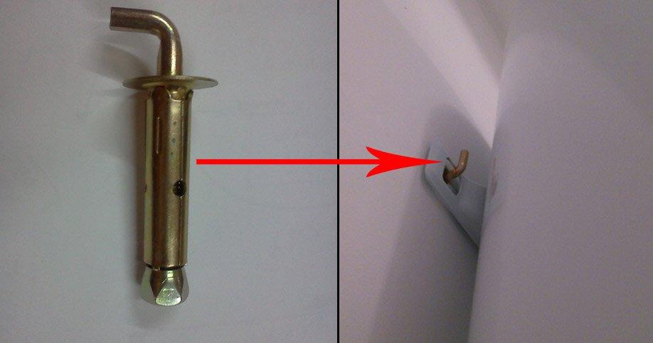 Крепление для водонагревателя своими руками 23