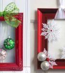 Декоративные рамки к Новому году