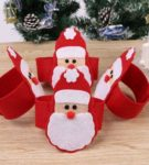 Держатели для салфеток с Дедом Морозом