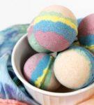 Цветные шарики для ванны