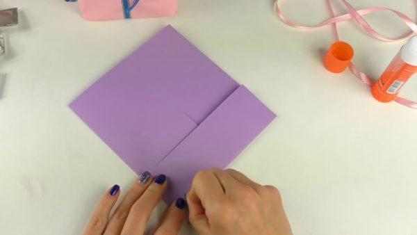 Изготовление бумажного пакета