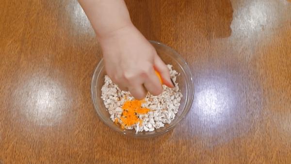 Куриное филе с цедрой апельсина