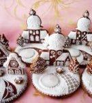 Новогодние пряничные домики