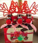 Новогодний подарок с напитками