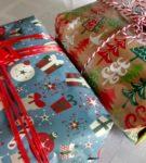 Новогодняя упаковка для подарков 10