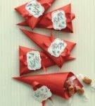 Новогодняя упаковка для подарков 11