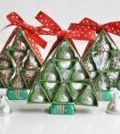 Новогодняя упаковка для подарков 15