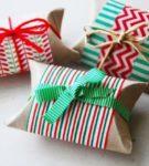 Новогодняя упаковка для подарков 17