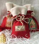 Новогодняя упаковка для подарков 21