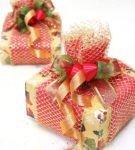 Новогодняя упаковка для подарков 23