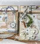 Новогодняя упаковка для подарков 24