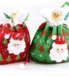 Новогодняя упаковка для подарков 26