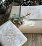 Новогодняя упаковка для подарков 28