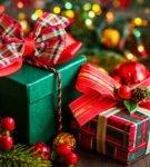 Новогодняя упаковка для подарков 31