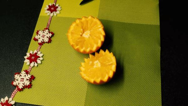 Половинки апельсина