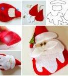Пошаговый мастер-класс по изготовлению Деда Мороза