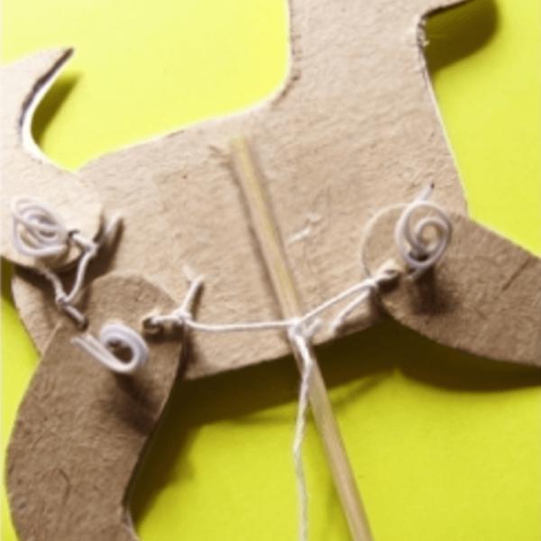 Игрушка щенок со шпажкой